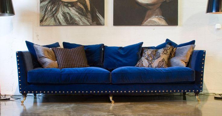 синий диван - Поиск в Google