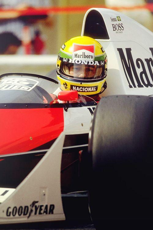 Ayrton Senna | McLaren MP45 | 1989 Monaco GP