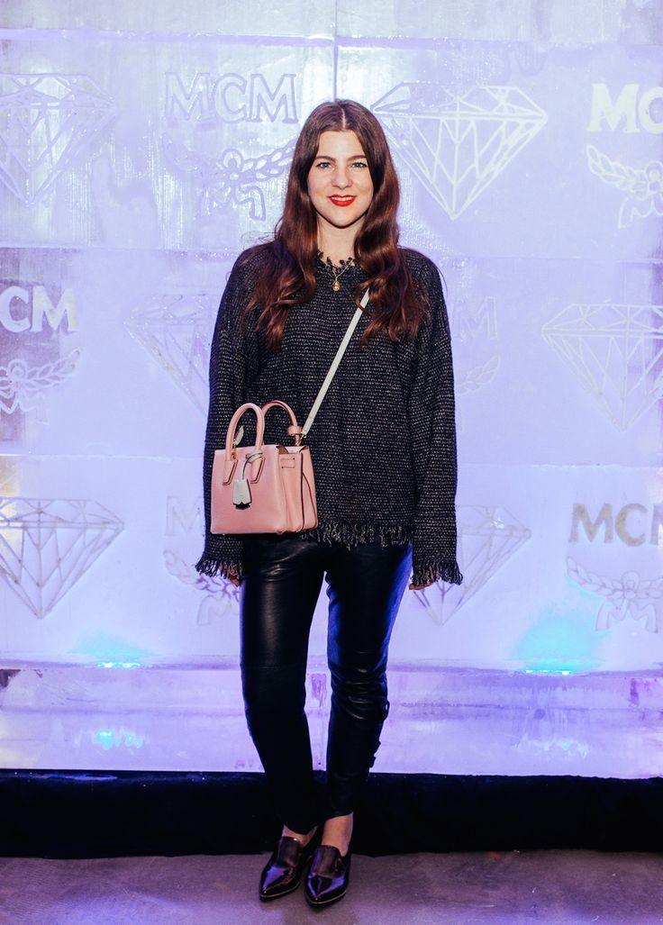 Abend-Outfit für das MCM Store-Opening im JOURlook - Journelles