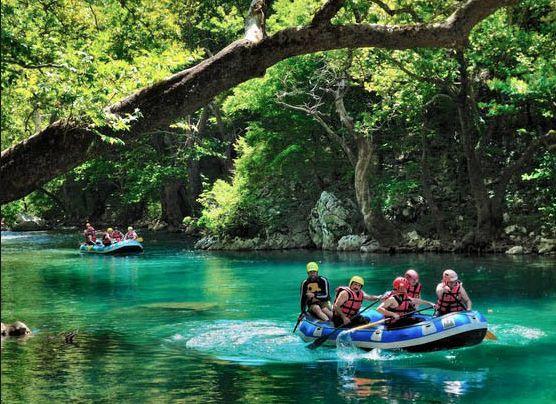 River rafting Zagori