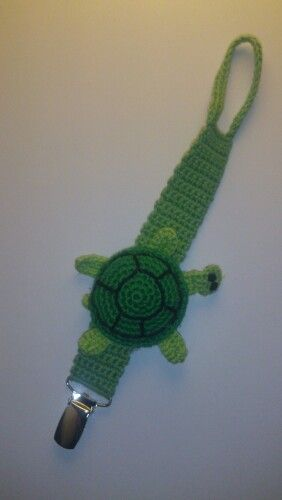 Pacifier cord (turtle) 3 hours