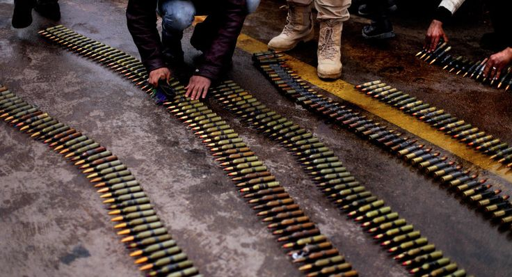 According to Donetsk People's Republic's militia, ammunition designed for NATO countries had been found in Ukraine
