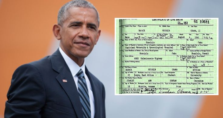 Huge Announcement About Barack Obama's Birth Certificate: 'Phony Document'