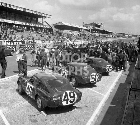 Triumph Spitfire at Le Mans 1964