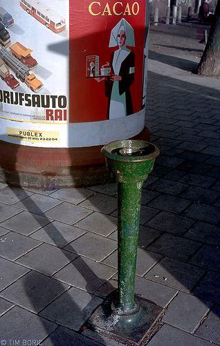 Het Gietijzeren waterhapper Tijdperk (VI)/ bij Westerstraat Amsterdam