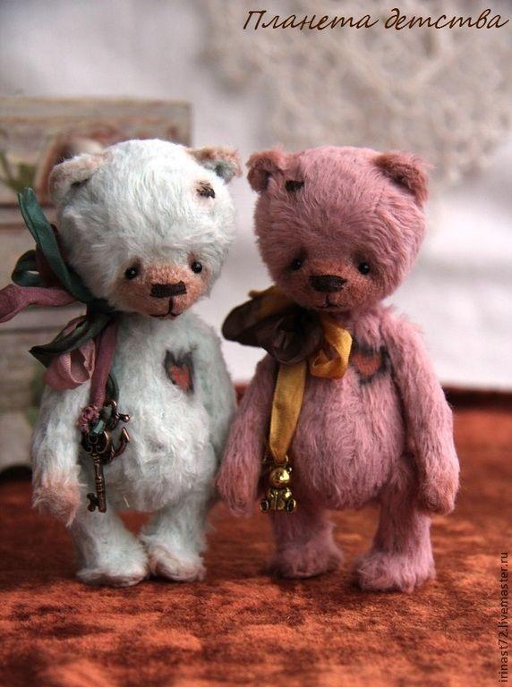 Тимоша 11 см - розовый,мишка,мишки тедди,подарок,игрушка,подарок девушке