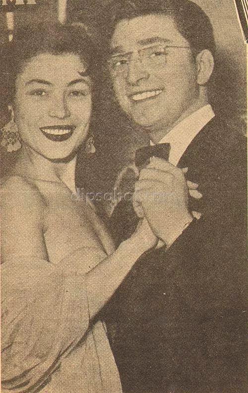 Ayten Alpman ve Zeki Müren 1953
