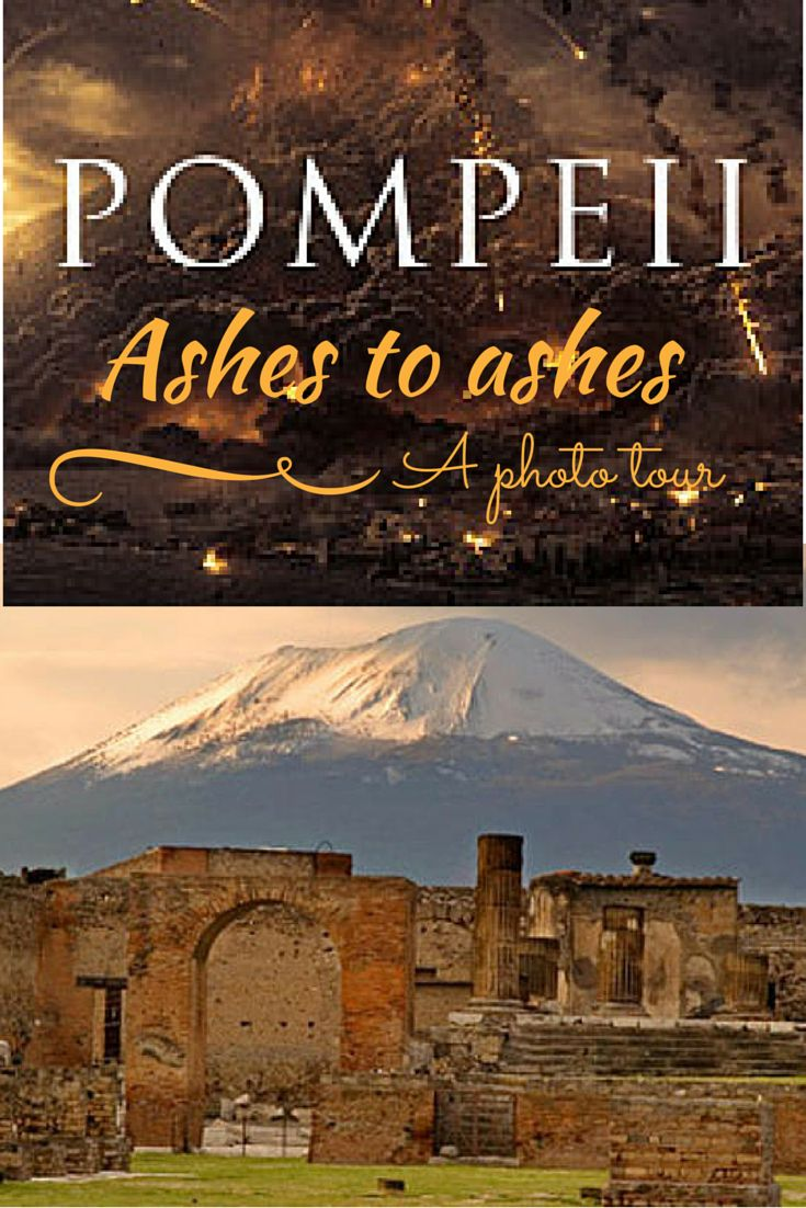 Pompeii - a city frozen in time. One of the most impressive Unesco sites in the world
