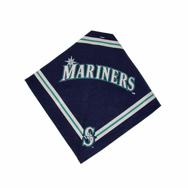 Seattle Mariners Dog Bandana - https://barkavenuebycucciolini.ca/product/seattle-mariners-dog-bandana/
