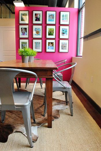 imagine these painted in different colors- chairs from overstock