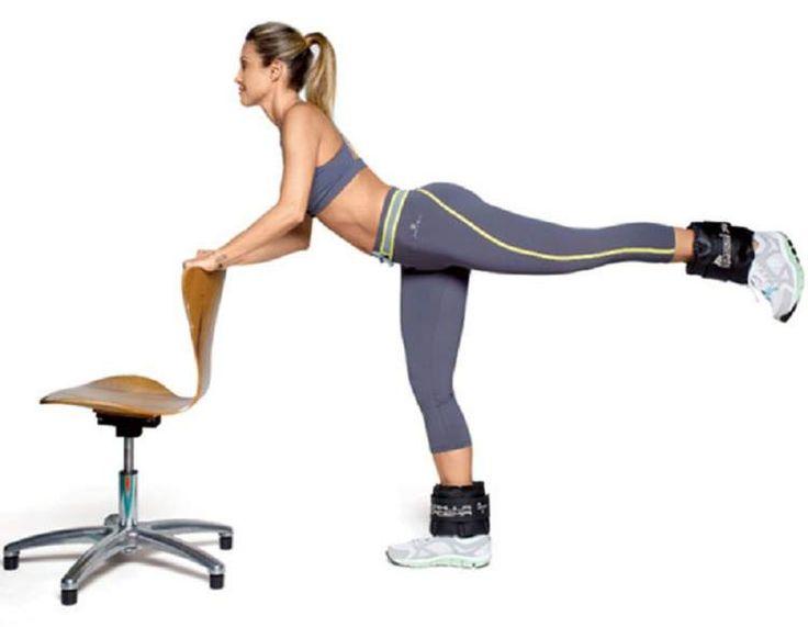 O coice é um excelente exercício para trabalhar os membros inferiores, principalmente as coxas e os glúteos.