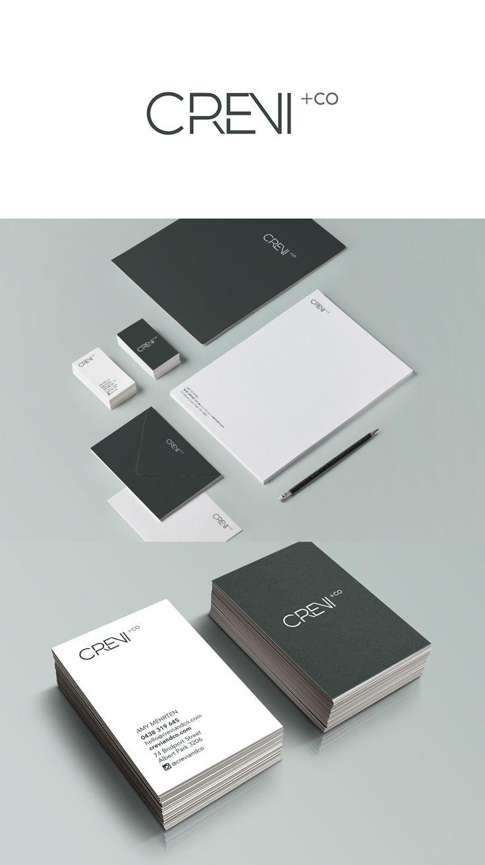 Brand Identity for property stylist Crevi+Co - Alexsia Heller