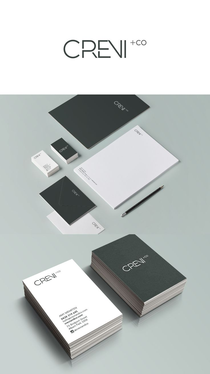 Brand Identity for property stylist Crevi+Co - Alexsia Heller