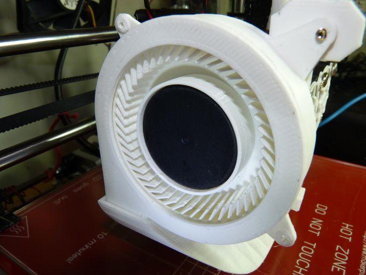 Squirrel cage / centrifugal fan 80 mm by VanessaEzekowitz.