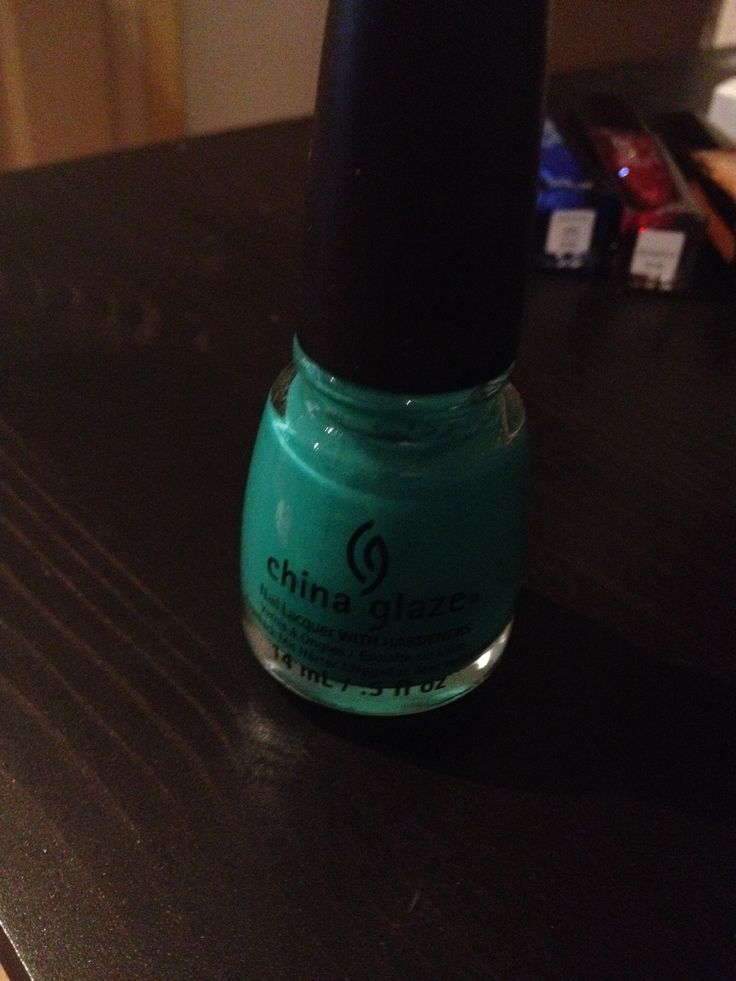 China Glaze in Keepin' it Teal 14 mL $3.00
