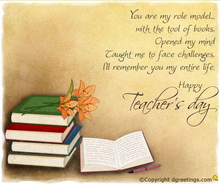 Dgreetings    Happy Teacher's Day...