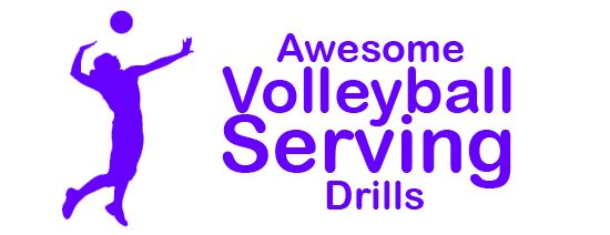 Awesome volleyball serving drills...  http://www.topvolleyballdrills.com/volleyball-serving-drills/