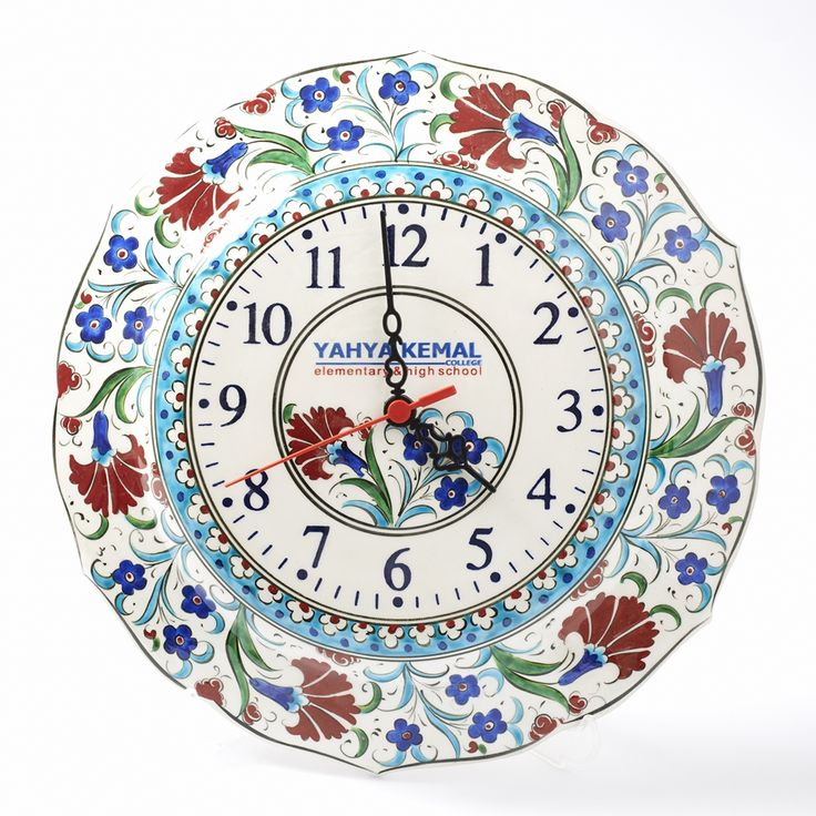 Logolu Saat - Kütahya Çini ve El Sanatları