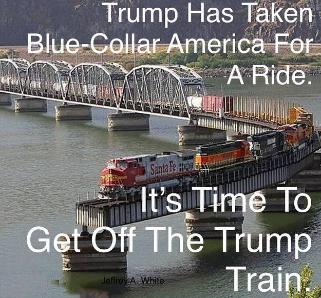 TRUMP IS A FRAUD with respect to increasing long-term blue-collar job growth in America.  NAFTA Is Still Alive And Now There Is Talk That Negotiations Will Go Into 2019...NAFTA cant be killed or modified much because American agribusiness does $18 billion in exports with Canada and Mexico.  Trump Cant Deport 800000 #DACA Immigrants Because It Would Cause A Recession.  DITTO for the other 10 MILLION blue-collar undocumented people.  Letting Rich People Have A Lot More Money Wont Make Them…