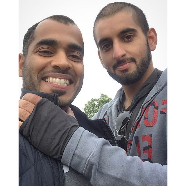 Ali Essa y Ahmed bin Mohammed bin Rashid Al Maktoum, Windsor, 13/05/2016. Vía: ali_essa1