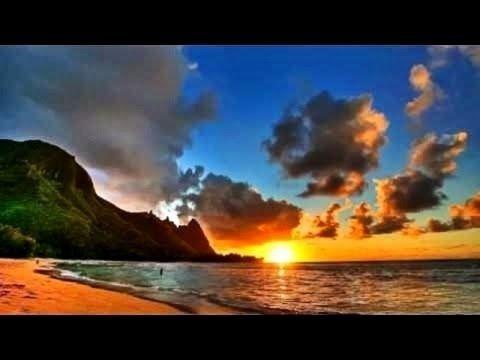 Coucher soleil sur la mer Peinture paysage marin à l'huile au couteau. Peindre paysage a l'acrylique - YouTube