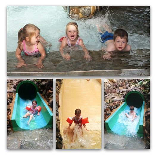 Swimming at Center Parcs
