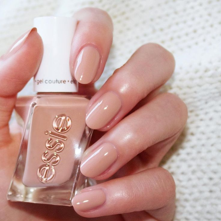 Here's some fancy footwork: get a leg up on the competition in this soft cinnamon nude from essie gel couture 'ballet nudes' collection. Get your hands on 'at the barre' for a mani that is on pointe. Shop it here: http://www.essie.com/gel-couture/colors/Neutrals/at-the-barre.aspx