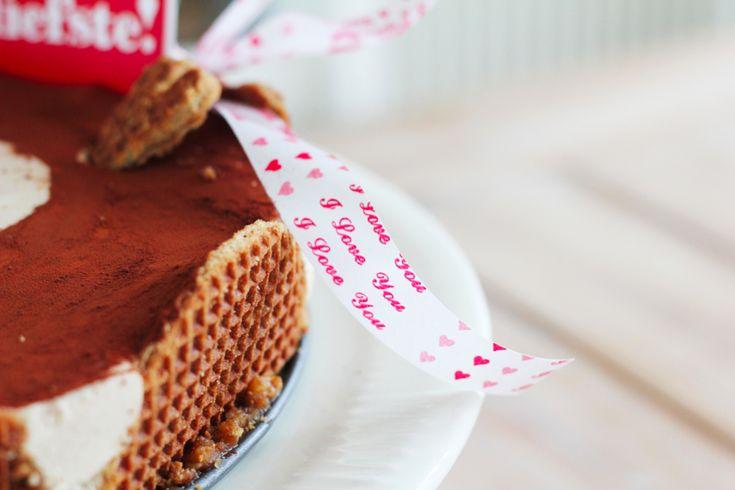 Stroopwafel Baileys taart - Culy.nl