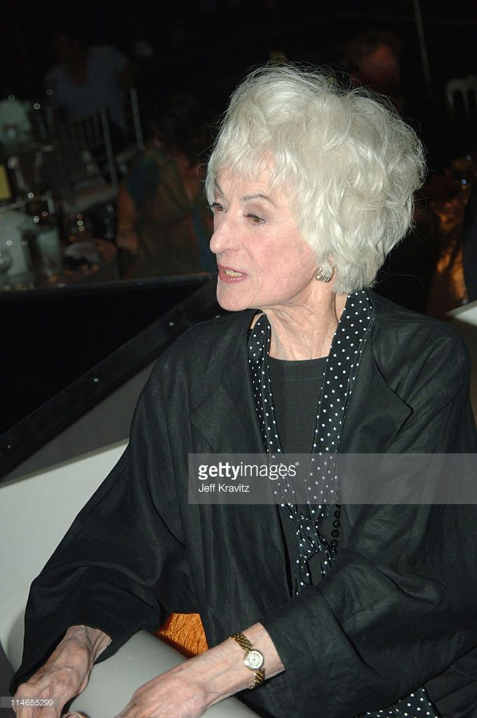 Bea Arthur during Comedy Central Roast of Pamela Anderson - Backstage, Green Room and Audience at Sony Pictures Studios in Culver City, California, United States.
