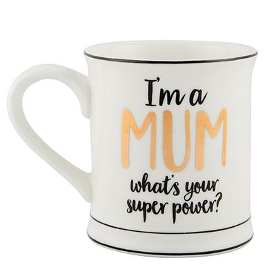 Novelty Mug For Mothers day - I'm a Mum What's your Super Power Mug #kitchengiftco