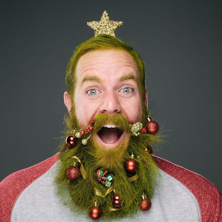 Photographer Stephanie Jarstad decorated the beards of woolly-faced men with holiday ornaments for her whimsical photo series, The Twelve Beards of Christmas. Jarstad created the series in honor of...
