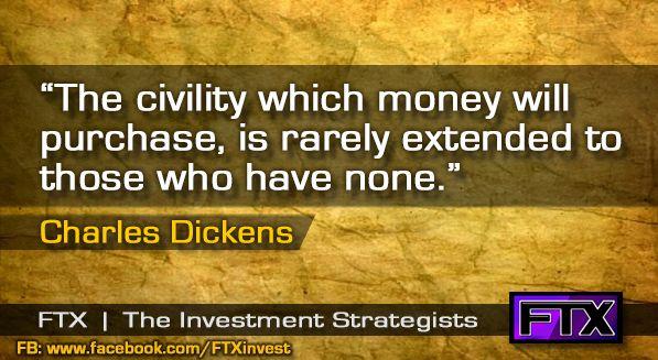 The civility of money...