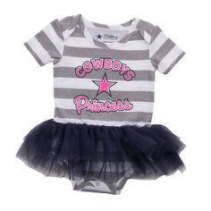 Dallas Cowboys Pretty Cute Tutu Bodysuit | Infant Outfits | Infant | Kids | Cowboys Catalog | Dallas Cowboys Pro Shop