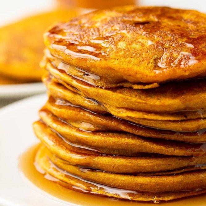 Vegan Pumpkin Pancakes Nora Cooks In 2020 Vegan Pumpkin Pancakes Vegan Pumpkin Vegan Pumpkin Recipes