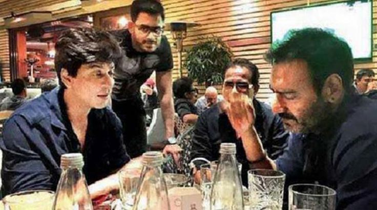 Shah Rukh Khan and Ajay Devgn to be seen in One Frame in Rohit Shetty's #dilwale