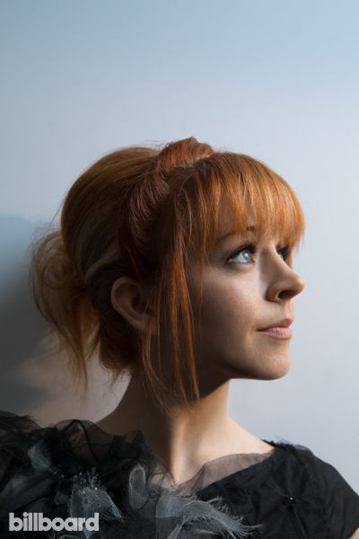 Lindsey Stirling photographed by Austin Hargrave on May 18th at The MGM Grand Garden Arena in Las Vegas.