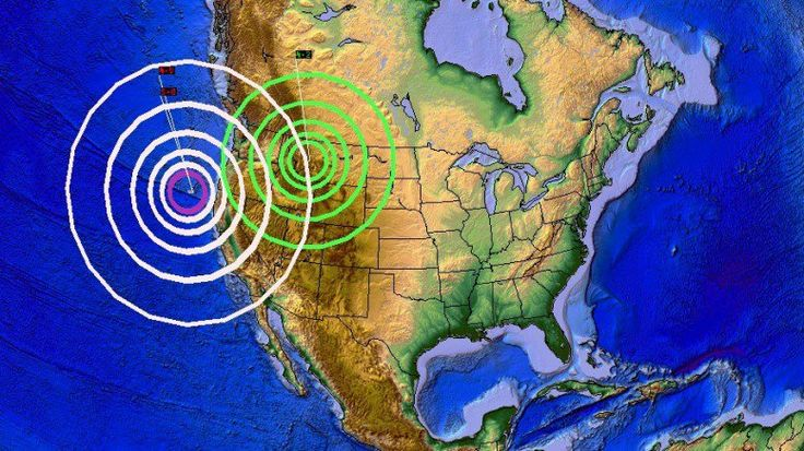 DEVELOPING: West Coast seismic pressure transfers EAST to Yellowstone Magma chamber