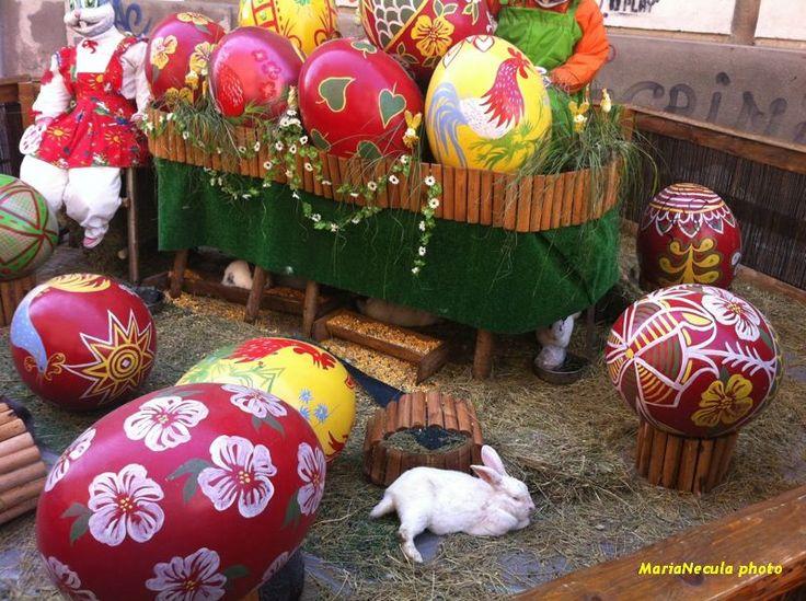 Easter decoration // Timisoara