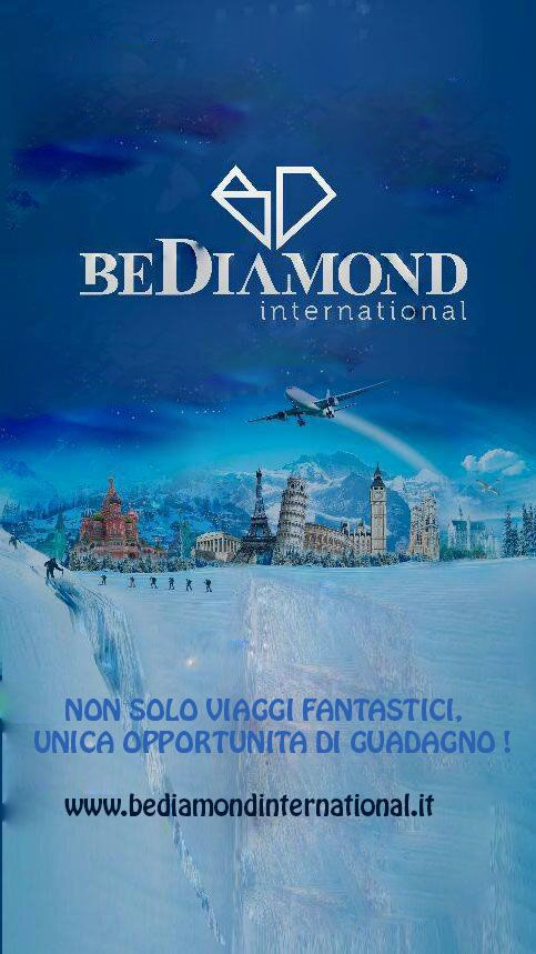 BeDiamond Tour www.bediamondinternational.it