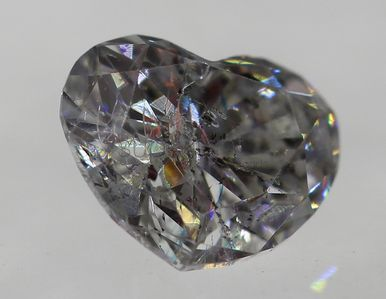 loose Diamonds : Certified 0.24 Carat F Color SI2 Heart Buy Loose Diamond For Jewelry 4.333.6mm
