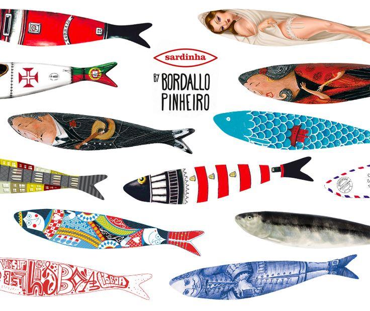 sardinhas bordalo pinheiro - Pesquisa Google