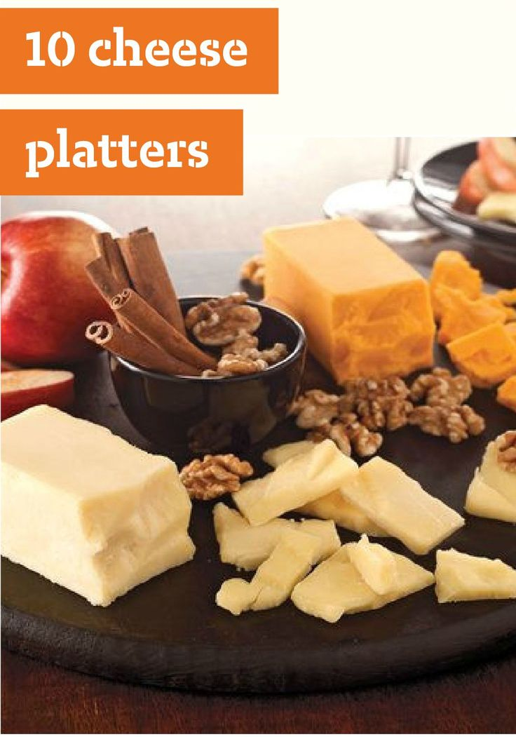 10 Cheese Platters – These entertaining cheese platters are a great way to wow any party crowd. Try these creative pairings and find tips on how to make the perfect cheese plate presentation with one of our delicious cheese balls as the centerpiece.