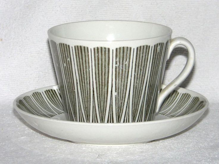 Gefle modell AU - te- och kaffekoppar