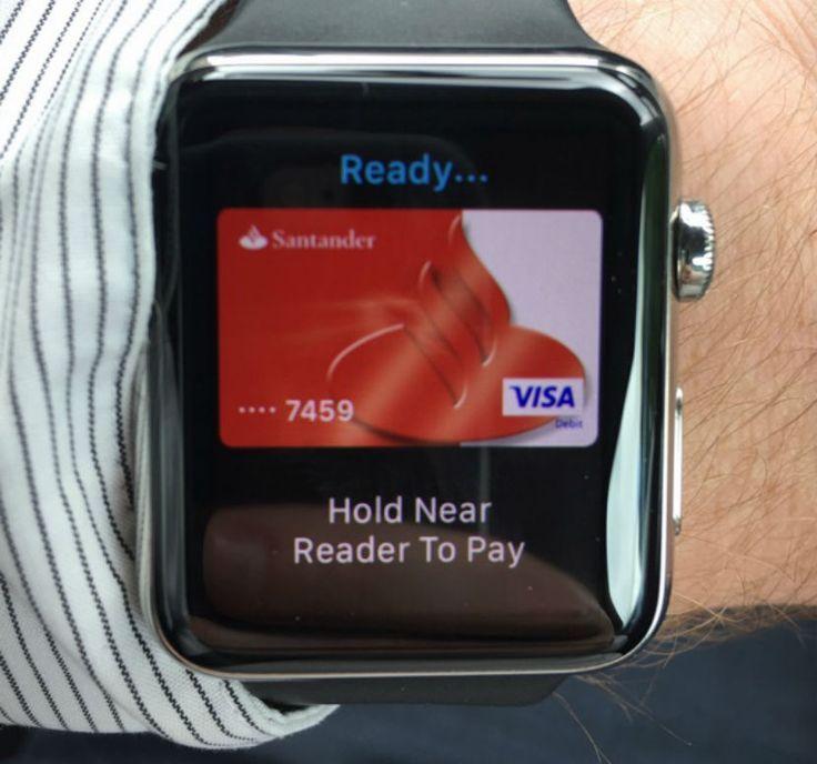El Banco Santander desembarca en Apple Pay pero en U.K. - http://www.soydemac.com/el-banco-santander-desembarca-en-apple-pay-en-uk/
