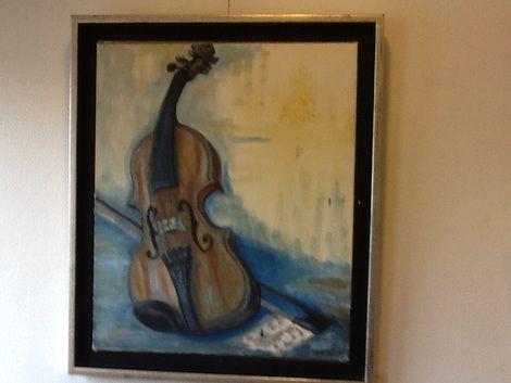 Turid Tafjord, Dansing Viola on ArtStack #turid-tafjord #art