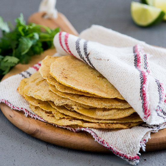 Basic Homemade Corn Tortillas | Food