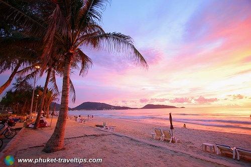 Patong Beach, Phuket, Thailand. Markets are fun.