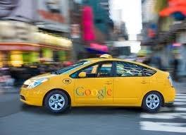 Google Driverless Taxi Cab