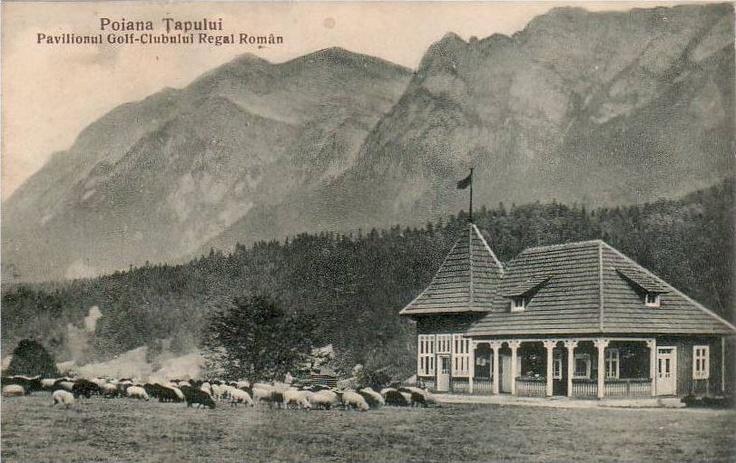 POIANA TAPULUI - CLUB GOLF - antebelica