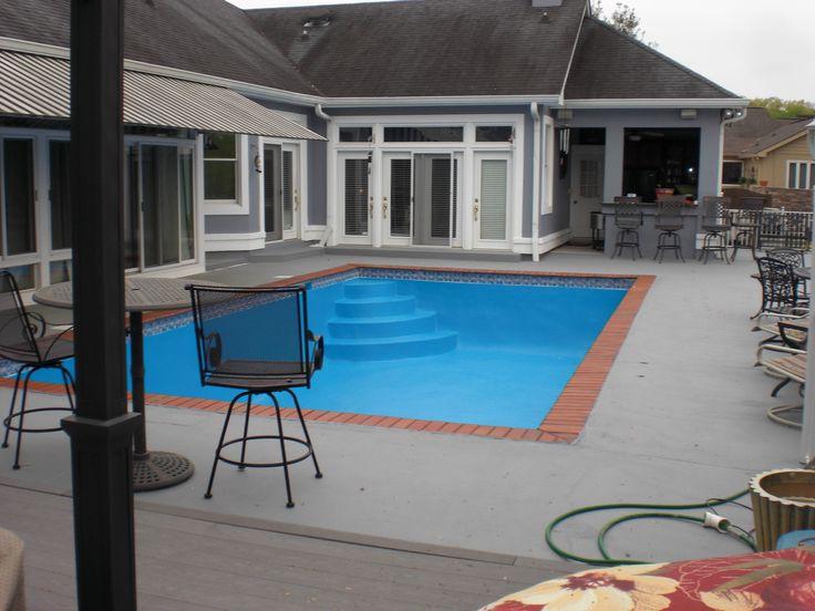 45 Best Pool Deck With Colorseal Images On Pinterest Concrete Contractor Decorative Concrete